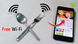 Free Wi-Fi Internet 100% Work || Get Free Internet Unlimited at home 2019 - New Best ideas