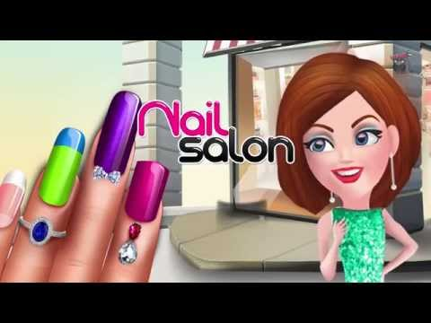 MAKEOVER SALON - NAIL ART - PRINCESS NAIL from YouTube · Duration:  16 minutes 41 seconds