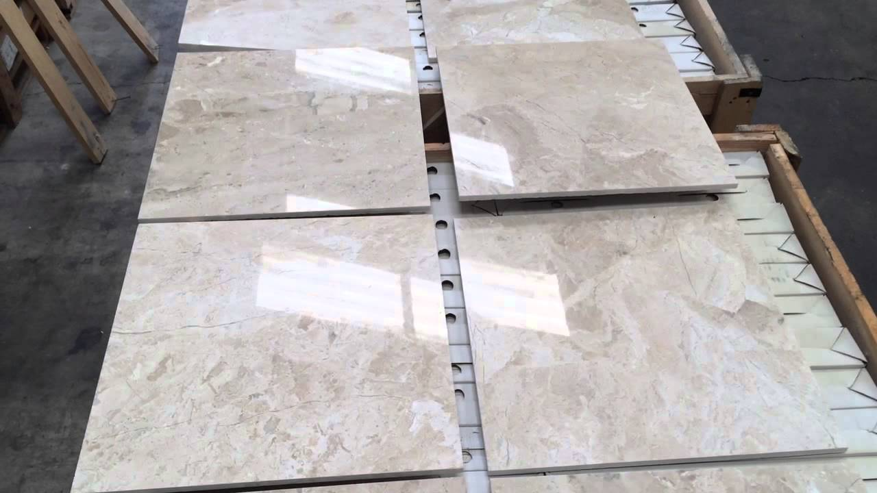 sofia beige ivory polished marble tiles 18x18