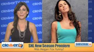 Megan Fox in SNL Season Premiere