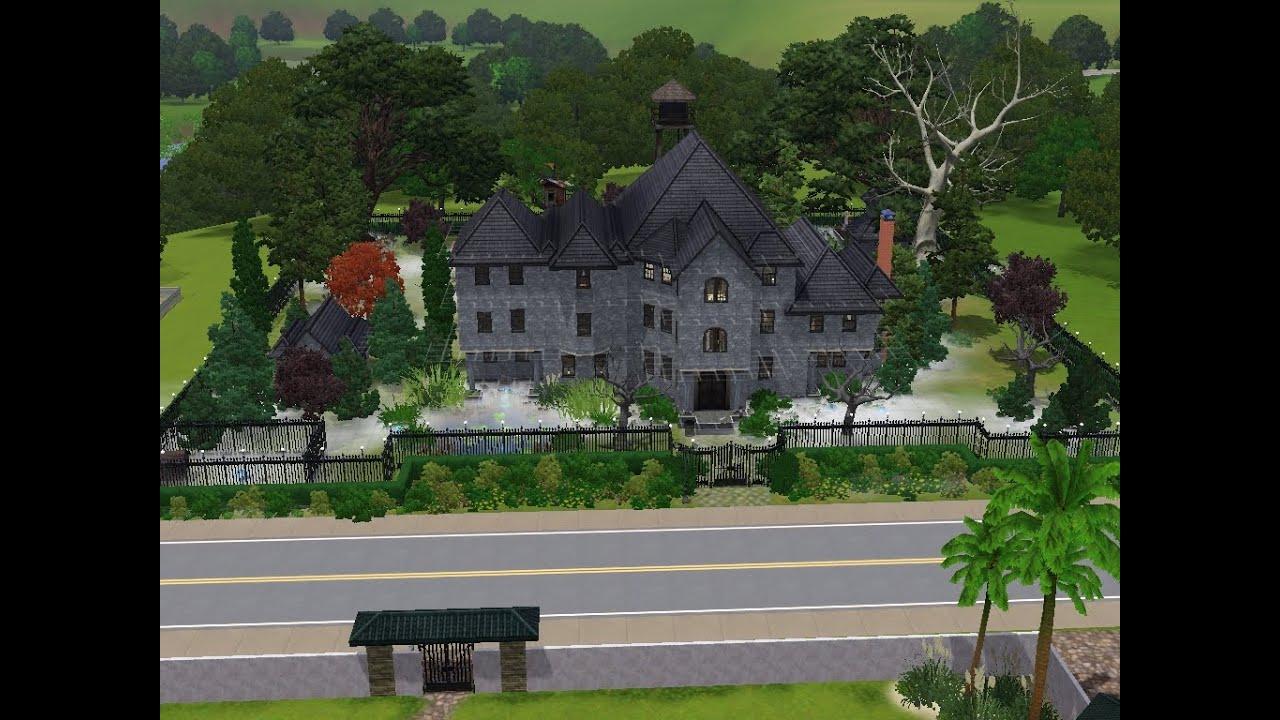 Sims 3 Haus bauen Let s build Geisterhaus der
