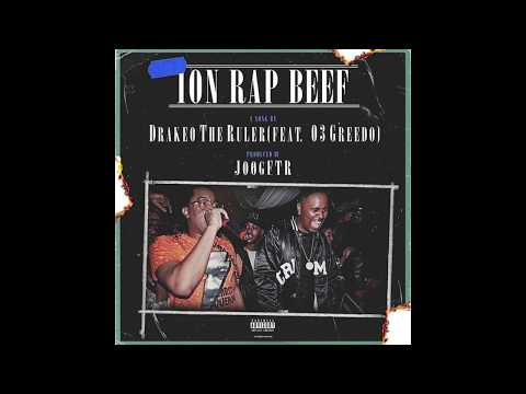 "Drakeo The Ruler - ""Ion rap Beef"" feat. 03 Greedo (Official Audio)"
