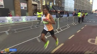 BEKELE'S first race in 2020 - London Half Marathon 2020