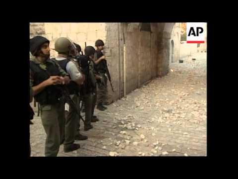 JERUSALEM: CONFLICT AT OLD CITY