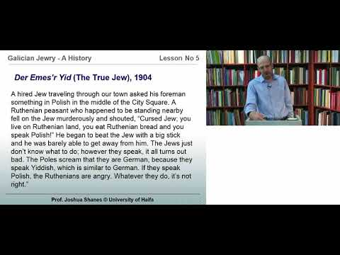 Lesson 5: Modern Jewish Politics: Jewish Nationalism and its Opponents