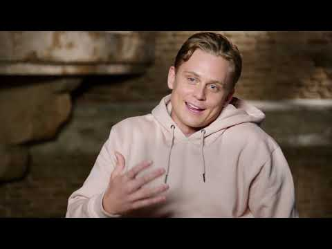 """Aladdin: Billy Magnussen """"Prince Anders"""" Behind the Scenes Movie Interview"""