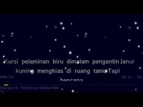 Karaoke Pelaminan Kelabu Mansyur s No Vocal HQ Audio