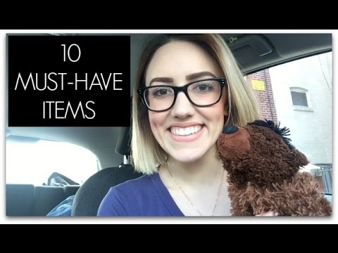 10 MUST-HAVE ITEMS FOR SLEEPING IN YOUR CAR | Katie Carney