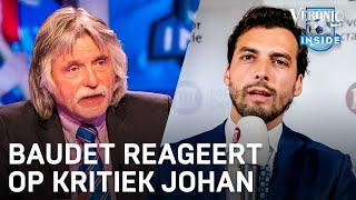 Thierry Baudet over kritiek Johan Derksen: 'Ik moet maar eens naar hem toe'