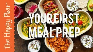 YOUR FIRST VEGAN MEAL PREP | VEGANUARY RECIPE | THE HAPPY PEAR