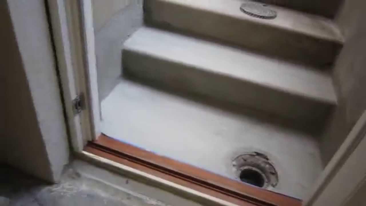 støbning af kældertrappe