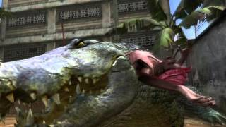 Resident evil 5 PC feeding the crocodile (mod)