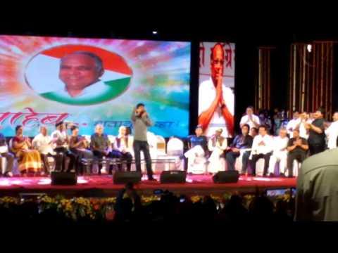Ajay gogavale singing Mauli mauli