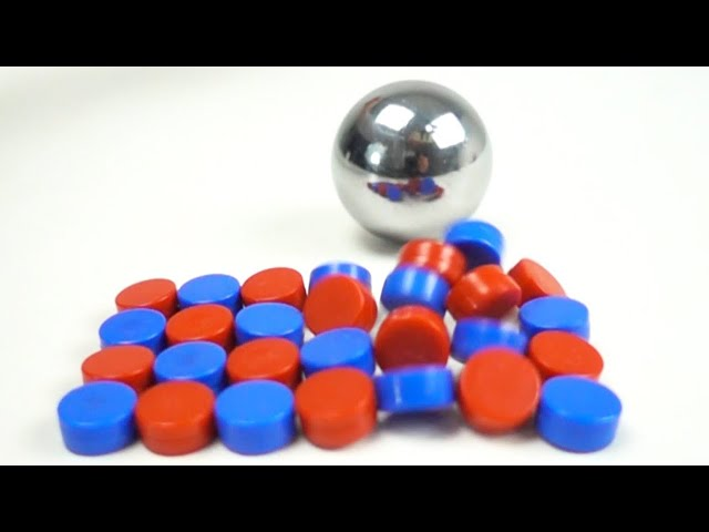 Magnetic Impacts in Slow Motion | Magnetic Games