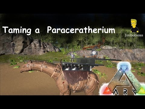 ARK: Survival Evolved Paraceratherium / Paracer Tame