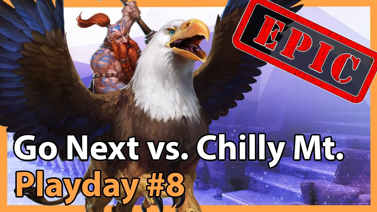 Chilly Mountain vs. Go Next - MC - Heroes of the Storm 2021
