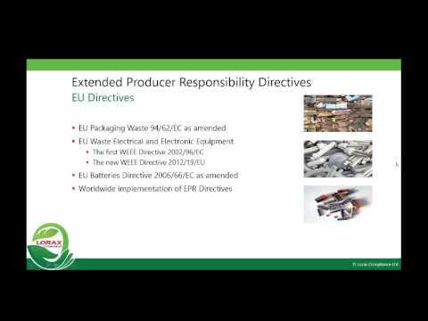 EPR Regulations: Lorax Compliance
