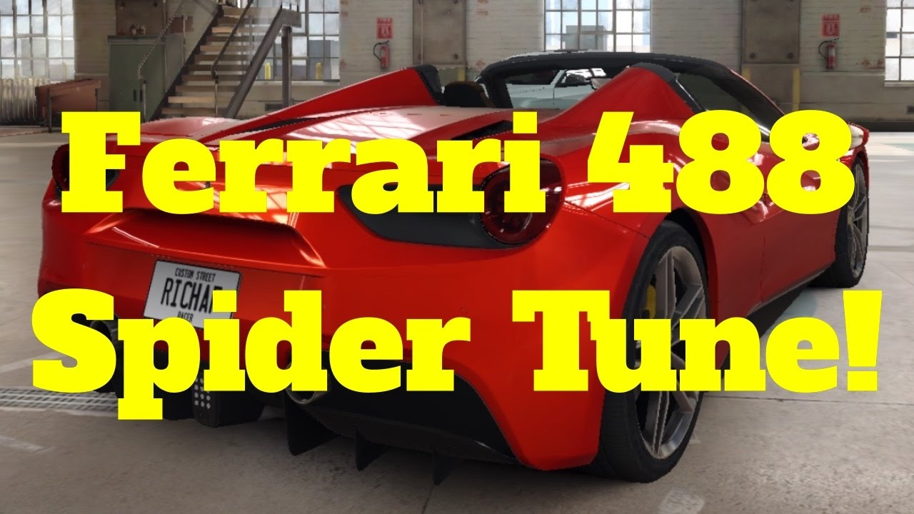 CSR Racing 2 Ferrari 488 Spider Tune - YouTube