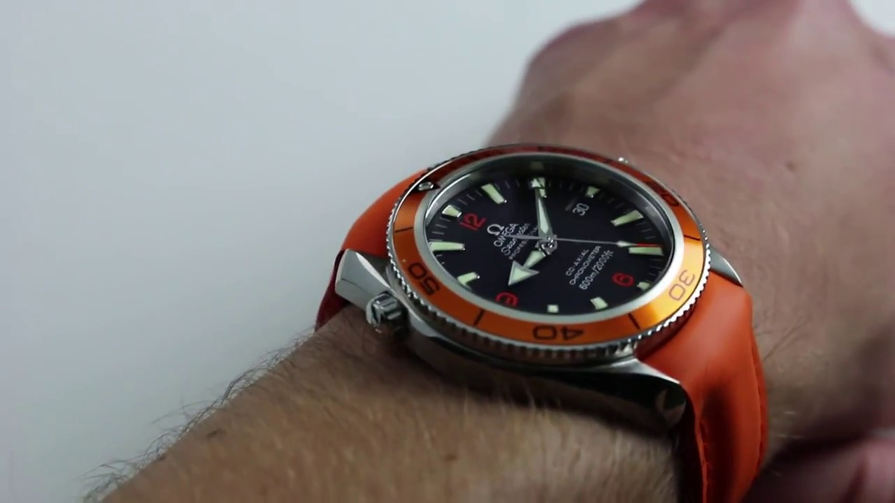 pre owned omega seamaster professional planet ocean 600m co axial