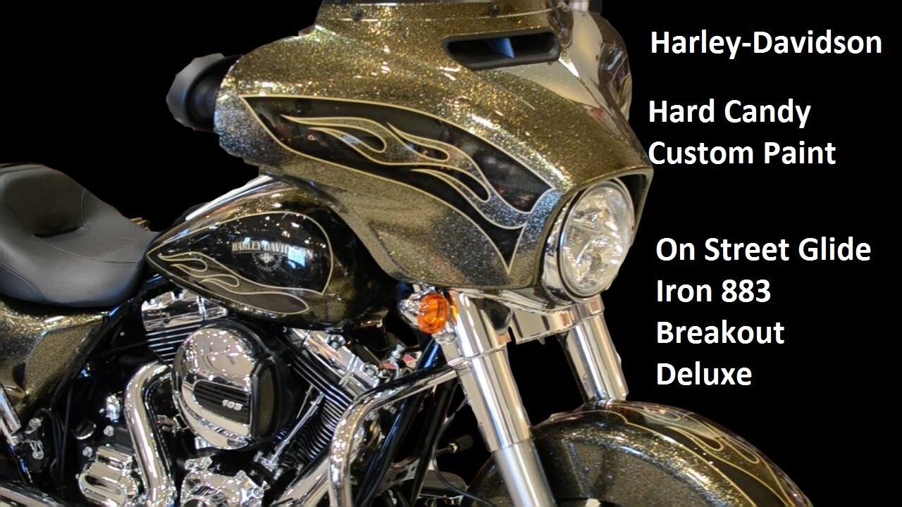 Hardy Candy 2016 Street Glide Deluxe Iron Breakout Harley Davidson