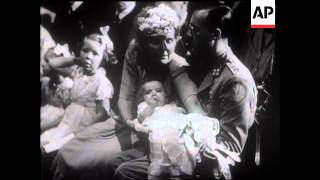 Exiled Dutch Princess Baptised