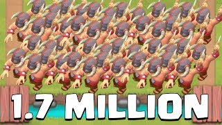 1.7 MILLION BARBARIANS | Funny Moments, Glitches, and Fails | Clash Royale Montage