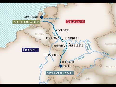 AmaWaterways Rhine River video onboard the AmaKristina
