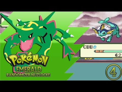 "Pokemon Emerald Randomizer Nuzlocke w/ pokeaimMD! - Ep 4 ""NO VAPOREON!"" [FACECAM]"