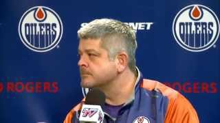 ARCHIVE: Todd McLellan Pre-Game vs. New Jersey