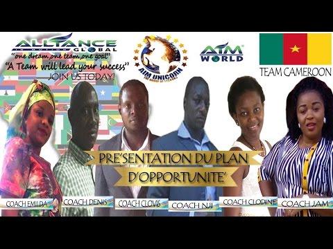 PRÉSENTATION DU PLAN D'OPPORTUNITÉ AIM GLOBAL CAMEROON