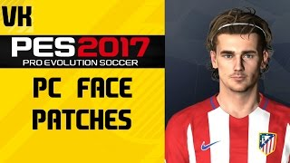 PES 17 PC FACE PATCH/MOD - Really Awesome Faces not available on PS4/Xbox One