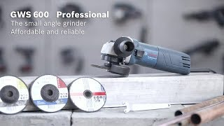 Bosch GWS 600 Professional Angle Grinder and cutter ! UNBOXING and how to use