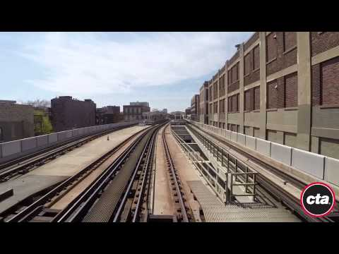 CTA Ride the Rails: Red Line to 95th/Dan Ryan in Real Time