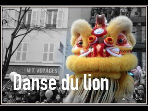 La danse du lion asiatique en Île-de-France (2015)