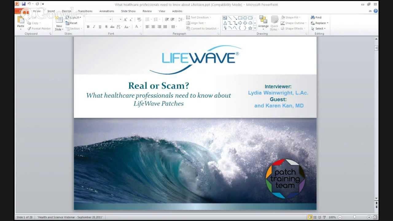 lifewave bluff
