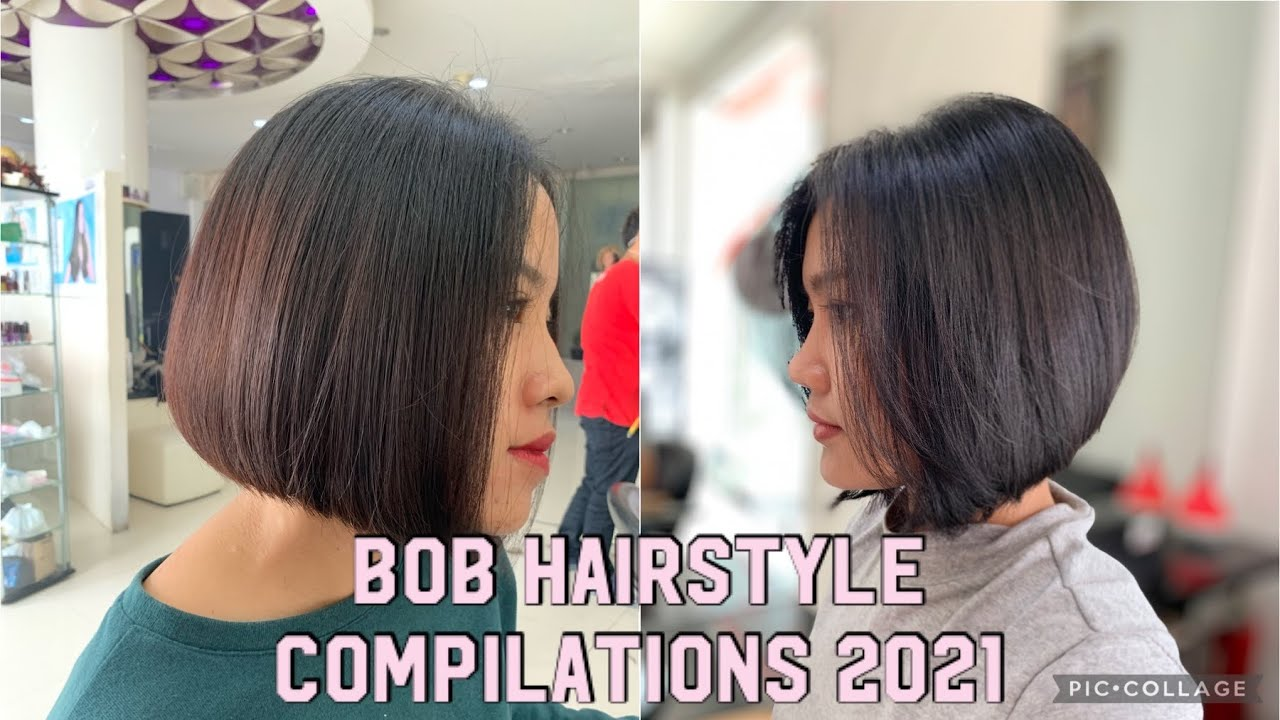 Short Haircut Compilations 2021 Bob Hairstyle Bob Hairstyle Inspirasi Model Rambut Pendek 2021 Youtube