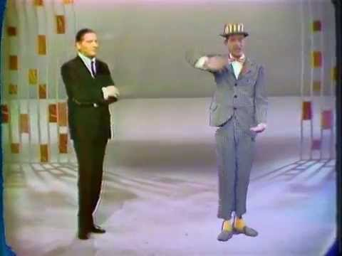 The two Berles sketch 1959 in color