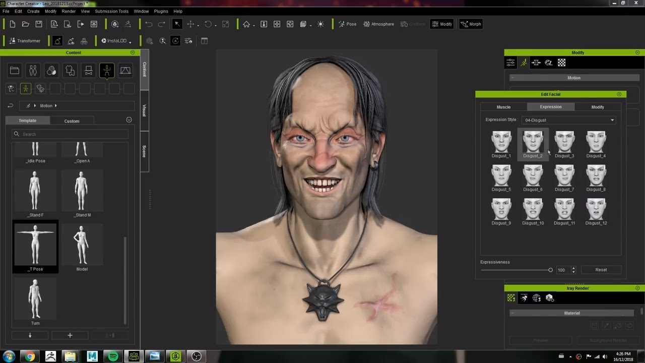 3d Artist Crystal Bretz Uses Character Creator 3 To Model And Animate A Character Concept Youtube