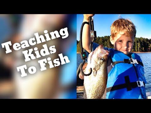 How To Teach Kids How To Fish - Taking Kids Fishing