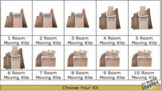 Moving Boxes - Moving Supplies