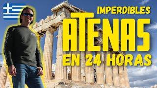 🏛 La Acrópolis de ATENAS y LOS MEJORES MIRADORES de la ciudad 👀 🇬🇷