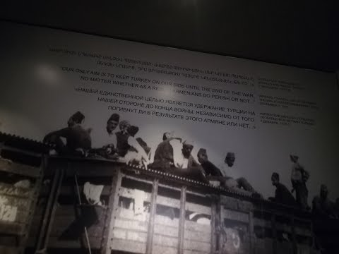 На это больно смотреть, это больно слышать, но это НАДО ЗНАТЬ!!! Музей Геноцида Армян / город Ереван