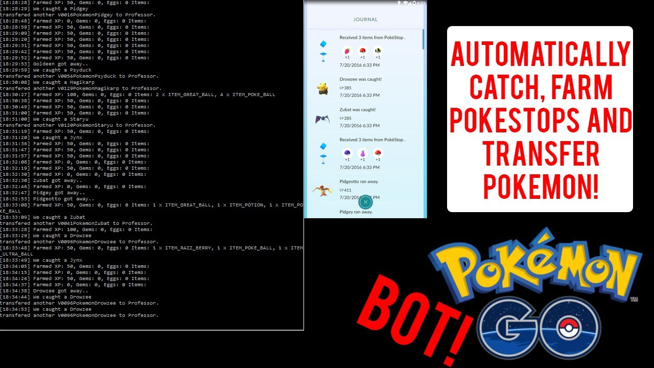 pokemon go new bot