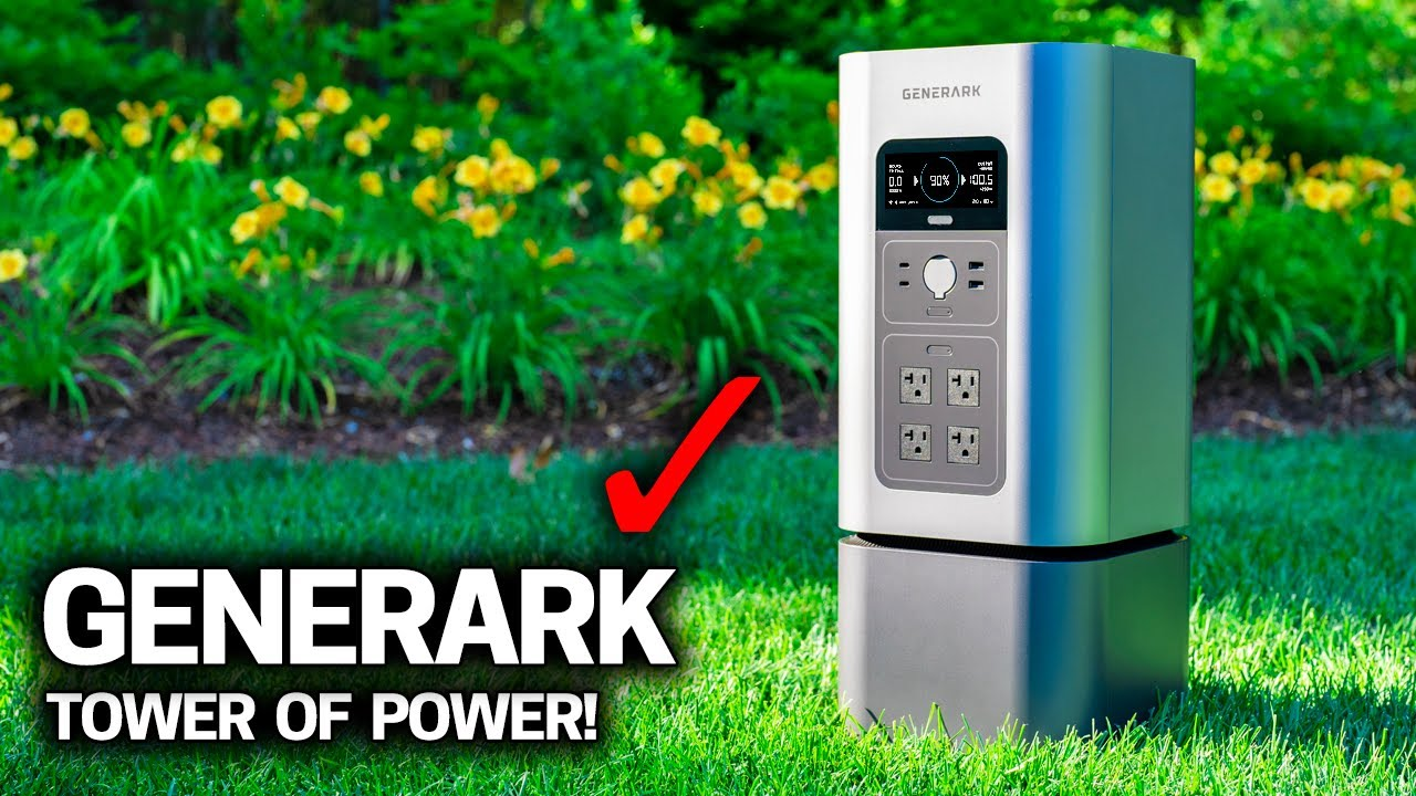 TESTING the CRAZIEST BATTERY DESIGN - GENERARK Home Power 2 Backup Power Generator