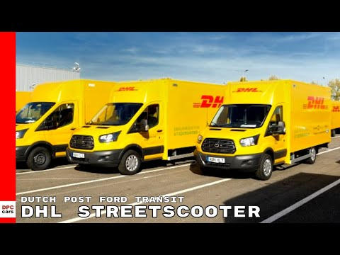 Dutch Post Ford Transit DHL Streetscooter Work XL Electric Van Factory