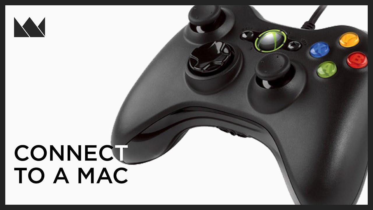 Connect An Xbox 360 Controller To A Mac - YouTube
