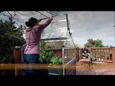 Hochbeet Fruhbeet Tepro Plant Inn Youtube