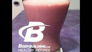Healthy Recipes: Refreshing Protein Packed Fruit Smoothie
