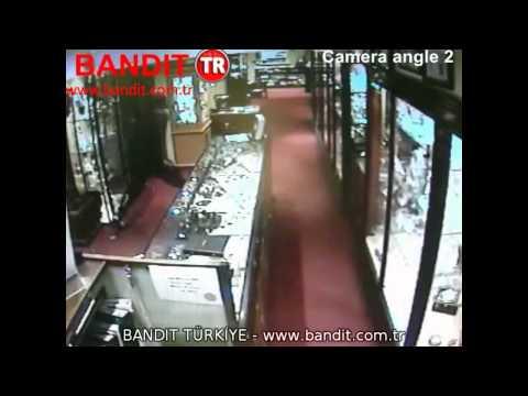 Sisli Savunma Sistemi BANDIT - Kuyumcuya Hırsızlık Girişimi