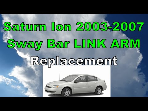 Saturn ION Clunking Sound 2003-2007 Repair Link Arm